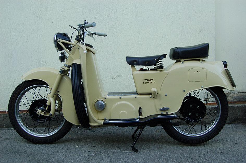 Restauro Moto Guzzi Galletto in provincia di Lecco - Dopo