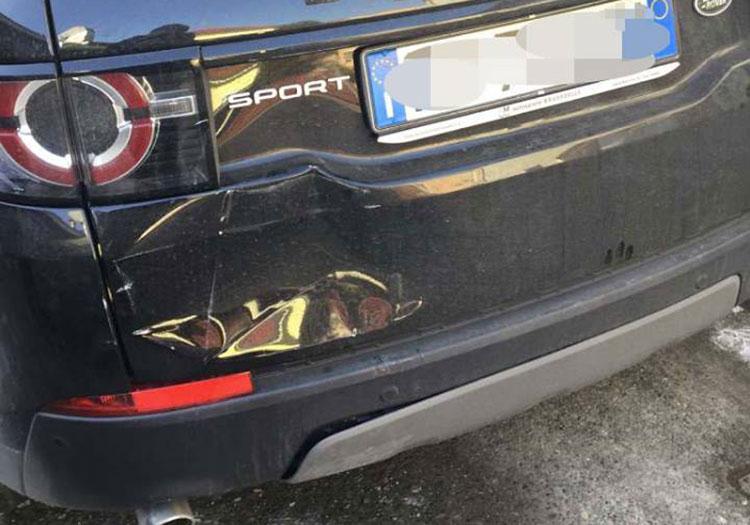 Riparazione portellone Land Rover Discovery Sport - Prima